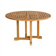 Three Birds Casual Oxford Round Dining Table; 48''