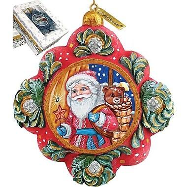 G Debrekht Gift Giver Santa Ornament