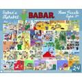 New York Puzzle Company Babar's Alphabet 24-Piece Floor Puzzle