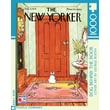New York Puzzle Company Dog Behind the Door 100-Piece Puzzle