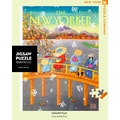 New York Puzzle Company Mount Fuji in Fall 1000-Piece Puzzle