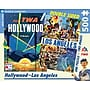 New York Puzzle Company Los Angeles Double Sided
