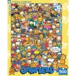New York Puzzle Company Garfield All Dressed Up 500-Piece Puzzle