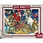 New York Puzzle Company Santa's Toys 300 Piece