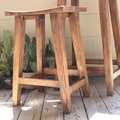 Timbergirl Acacia Bar Stool; Counter