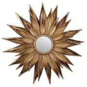 Twos Company Sunflower Wall Mirror