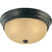 Volume Lighting Trinidad 3 Light Ceiling Fixture Flush Mount