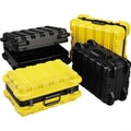 SKB MP Series: Heavy Duty ATA Case: 9 1/4'' H x 20 5/16'' W x 13 5/8'' (outside); Black