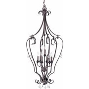 Volume Lighting Parisian 9 Light Candle Chandelier