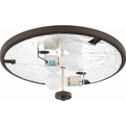 Volume Lighting Esprit 2 Light Ceiling Fixture Flush Mount; Antique Bronze