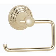 Alno Regency Wall Mounted Single Post Toilet Paper Holder; Polished Chrome