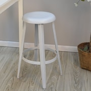Carolina Cottage Grayson 30'' Bar Stool; White