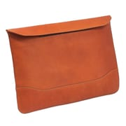 Claire Chase Legal Folio with Velcro Closure; Saddle
