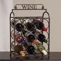 Cape Craftsmen Vintage 9 Bottle Tabletop Wine Rack