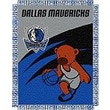 Northwest Co. NBA Baby Triple Woven Jacquard Throw; Dallas Mavericks