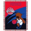 Northwest Co. NBA Baby Triple Woven Jacquard Throw; Detroit Pistons