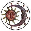 Cape Craftsmen Sun Moon and Stars Wall Decor