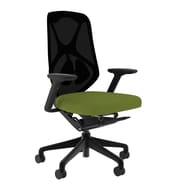 Compel Office Furniture Suit Mesh Task Chair with Arms; Green