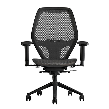 Compel Office Furniture Mesh Net Task Chair with Arms