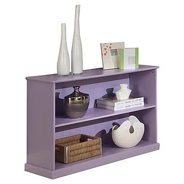 InRoom Designs 25'' Bookcase; Purple