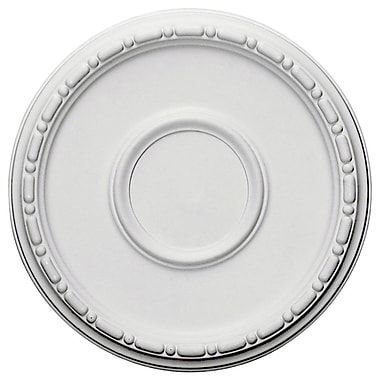 Ekena Millwork Medea 16.5''H x 16.5''W x 1.5''D Ceiling Medallion