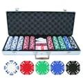 JP Commerce 500 Piece Double Suited Poker Chip Set