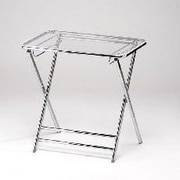 Alston Lucite Folding End Table