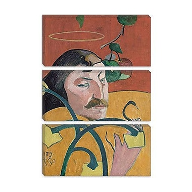 iCanvas 'Self Portrait' by Paul Gauguin Painting Print on Wrapped Canvas; 12'' H x 8'' W x 0.75'' D