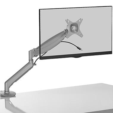 Kanto - Socle pour ordinateur de bureau, 17 po x 27 po, argent (DMG1000S)