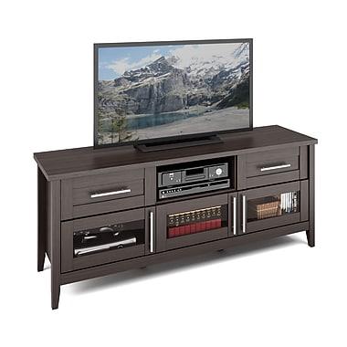 Corliving Tjk-678-B Jackson TV Bench, Modern Wenge Finish