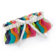 HBH™ Chevron Stripe Satin Garter