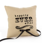 "HBH™ 3 1/2"" x 7 3/4"" ""Happily Ever After"" Ring Pillow, Linen"