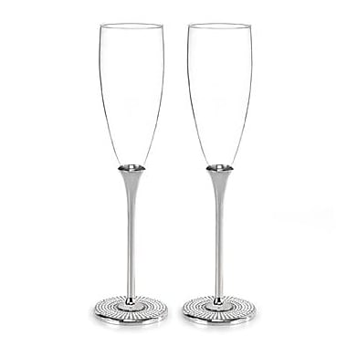 Hortense B. Hewitt, 8 oz., Flute Glass, Vintage Pearl
