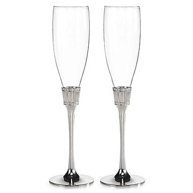 Hortense B. Hewitt, 8 oz., Flute Glass, Romanesque