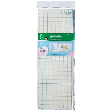 Clover 7805 White Take and Press Mat, 36in. x 24in.