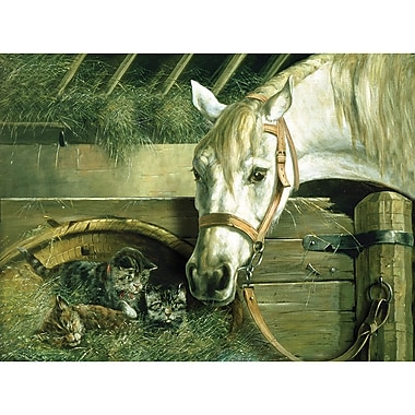 Reeves™ Paint By Number Artist's Large Painting, Horse and Kitten, 12