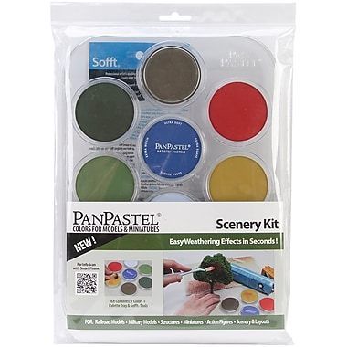 Colorfin PanPastel® 9 ml Ultra Soft Artists Painting Pastel Set, Scenery