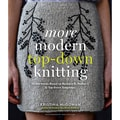 Abrams in.More Modern Top-Down Knittingin. Book, 8 1/2in. x 9 7/8in.