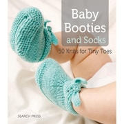 "Search Press ""Baby Booties and Socks 50 Knits For Tiny Toes"" Book, 195 mm x 222 mm"