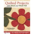 Design Originals in.Quilted Projects With Wool and Wool Feltin. Book, 8.5in. x 11in. x 0.26in.