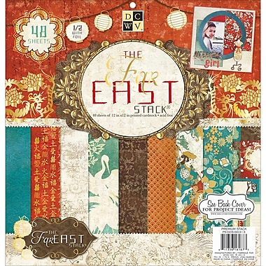 Diecuts With A View® Far East 2 Paper Stack 12