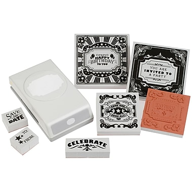 EK Success® Stamp and Punch Set, It's A Party