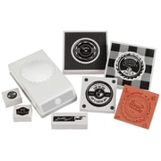 EK Success® Stamp and Punch Set, Retro Bottle Cap