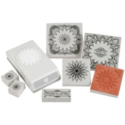 EK Success® Stamp and Punch Set, Floral Doodle