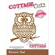 "CottageCutz® Elites 2.7"" x 2.7"" Thin Metal Die, Harvest Owl"