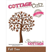 "CottageCutz® Elites 3.5"" x 2.9"" American Steel Die, Fall Tree"