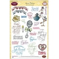 Justrite® Papercraft 6in. x 8in. Clear Stamp Set, Special Delivery