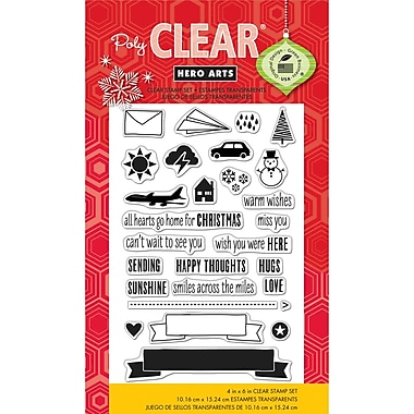 Hero Arts® Clear® 4in. x 6in. Stamp Set, Lisa's Mix & Match Messages