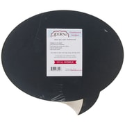 "Adorn-It® 12"" x 18"" Oval Bubble Chalkboard Surface"