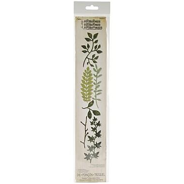 Sizzix® Sizzlits Tim Holtz Spring Greenery Decorative Strip Die, 2.375